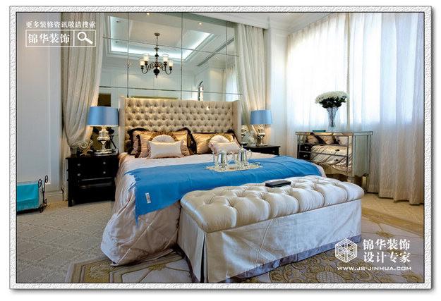 双城 三居室 70平米 卧室装修设计 混合型风格 232平米