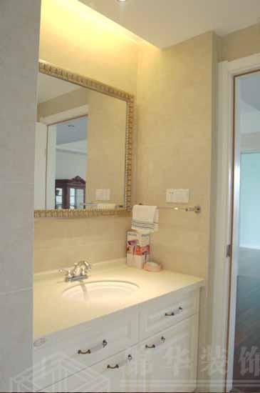 名称 洗手池 卫生间装修效果图 南通锦华装饰