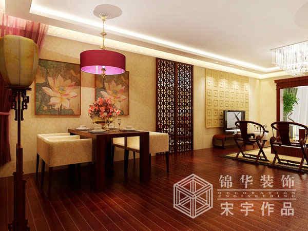 110m642;装修图片-三室两厅装修效果图