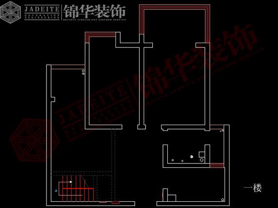 天山绿洲复式楼户型解析 装修设计方案 徐州锦华装饰