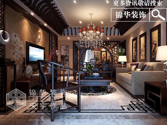 人才家园新中式风格图片