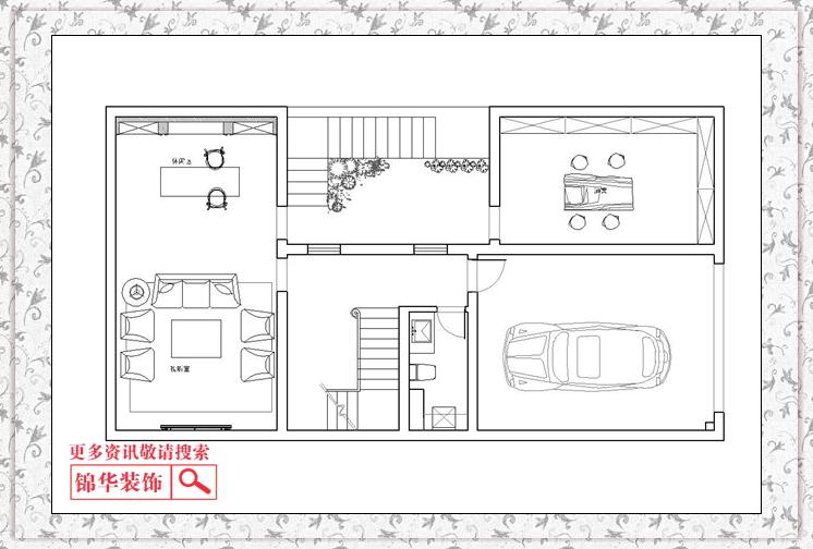 地下室平面布置图-华润云龙湖悦府 联排29 101户型 装修设计方案 徐州图片